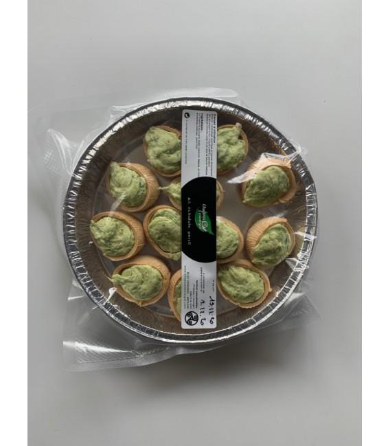 12 escargots en cRoquille -  beurre noix noisettes